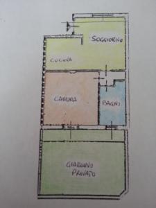 Casorezzo - Bilocale con giardino